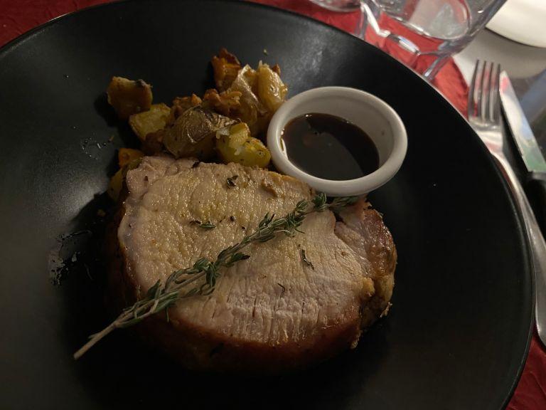 <em><sub>Pork, mushrooms, potatoes</sub></em>