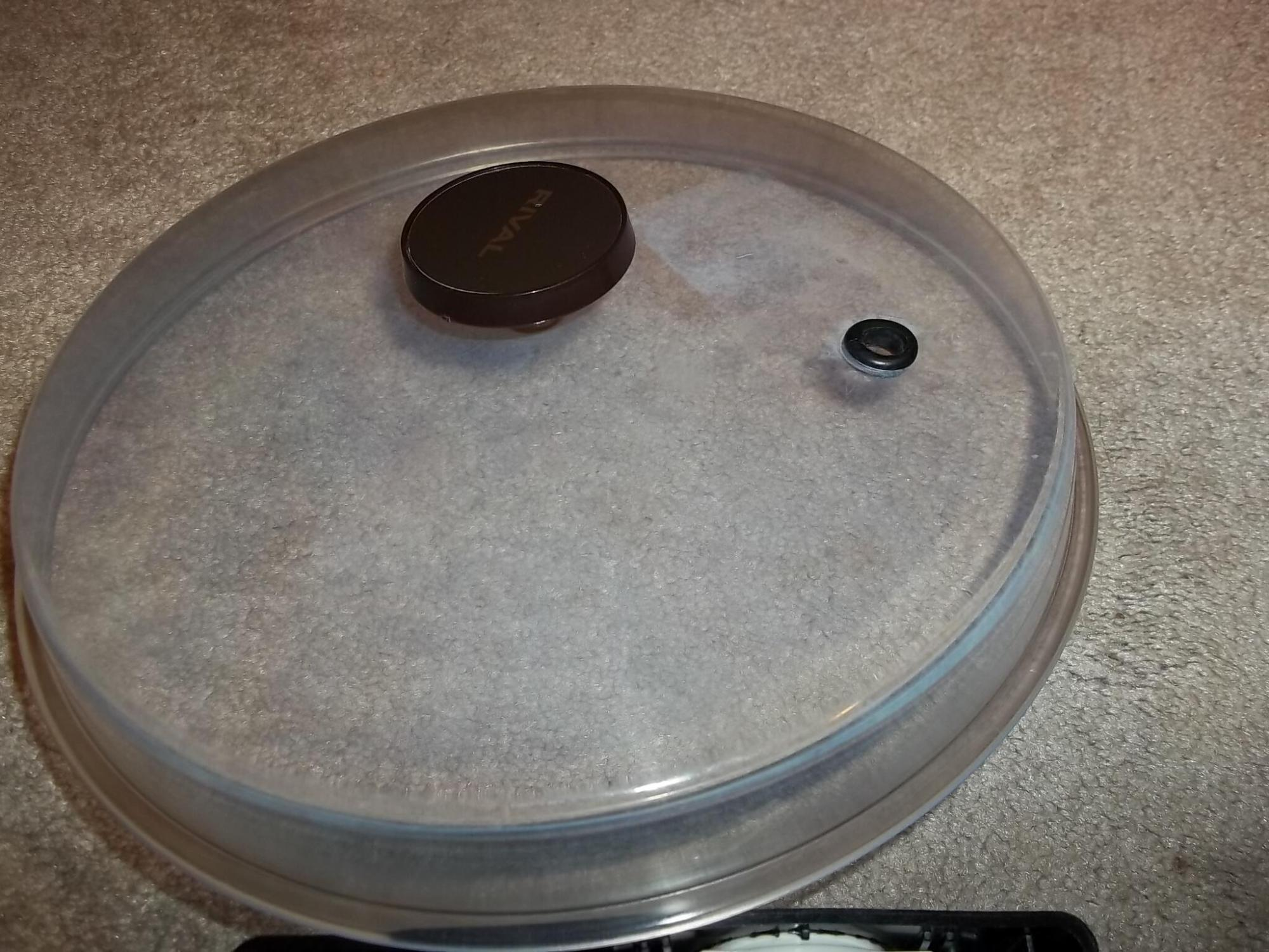hight resolution of slow cooker lid