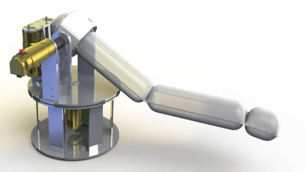 CAD Model of Soft Robot