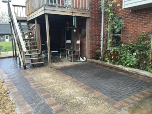 Remodeled Paver Patio