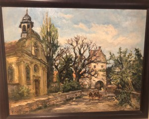 A picture of a painting that has been in my family for 60 years and the subject of a recent search in germany