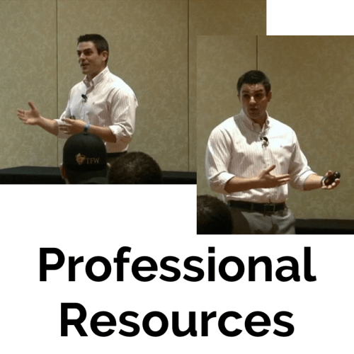 Professional Resources