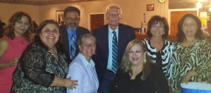Mike with Community Leaders at the 2016 LULAC 21st Annual Award Scholarship Banquet on Saturday at Royal Banquets in Aurora.