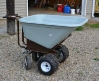 Electric Wheelbarrow Review by Mike McGroarty.