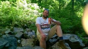 Dan in the woods