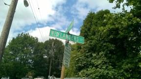 He's got his own street.