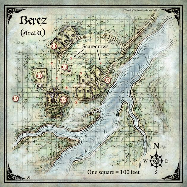 Mike Schley: Curse of Strahd &emdash; Curse of Strahd; Berez (Digital DM & Player Versions) $1.75