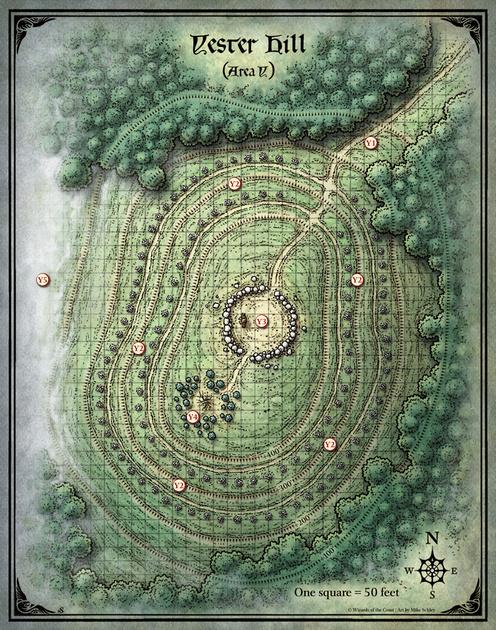 Mike Schley: Curse of Strahd &emdash; Curse of Strahd; Yester Hill (Digital DM & Player Versions) $1.75
