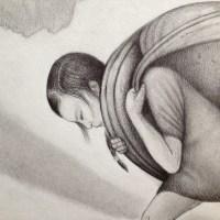 Preliminary Pencil Drawing - Exodus