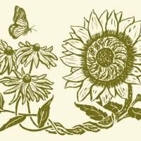 The Botanical Wedding of Sunflowers and Black Eyed Susans