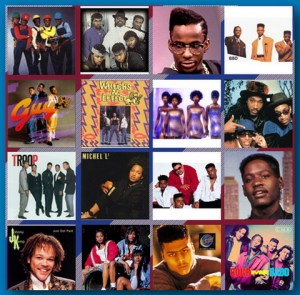 New Jack Swing collage