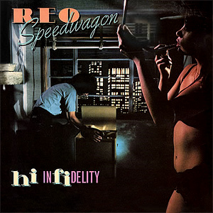 REO Speedwagon Hi Infidelity CD cover