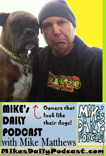 MIKEs DAILY PODCAST 1074 Basil the Boxer and sad Mike