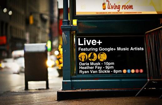 Google HIRL Live+ Concert Poster