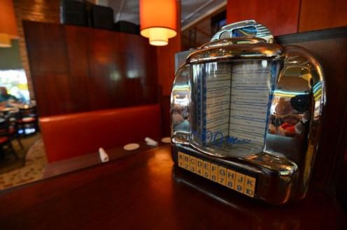 A mini jukebox. Credit: Cap City Fine Diner and Bar