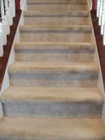 Tip Of The Week Mike S Home Centre   Cap And Band Carpet Stairs   Fun   Stair Landing   Upholstered   Office   Waterfall