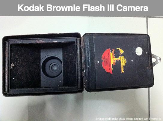 Kodak Brownie Flash III camera - inside  544px
