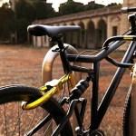 Senza Bike Lock System: a bike locks integrated bike