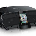 EPSON Megaplex MG-850HD Projector: it's an iDock too!