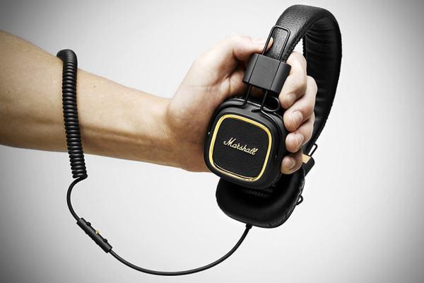 Marshall Major 50 FX Headphones MIKESHOUTS