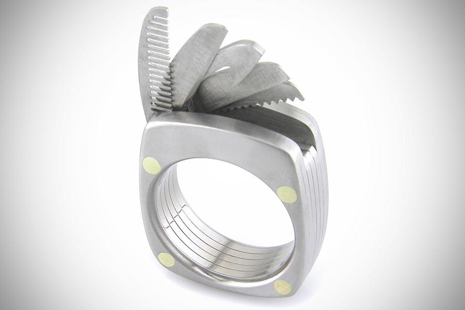 Titanium Utility Ring by Booner Titanium Rings