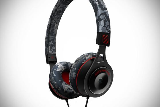 Scosche RH656M Digital Camo On-Ear Headphones