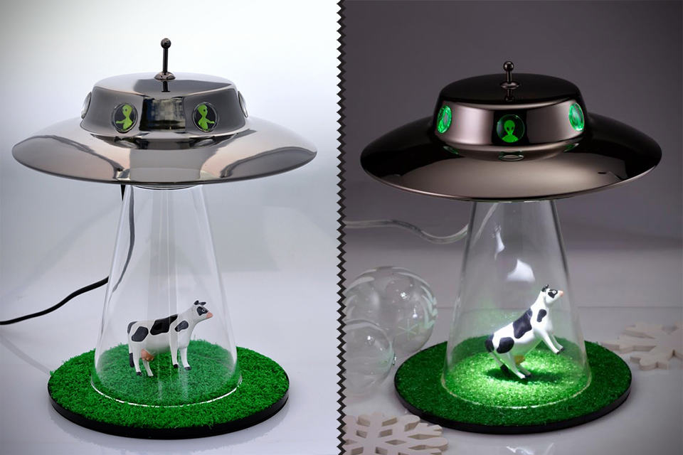 kitchen science white eyelet curtains alien abduction lamp - mikeshouts
