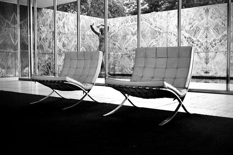 Mies Van Der Rohe Barcelona Chair  MIKESHOUTS