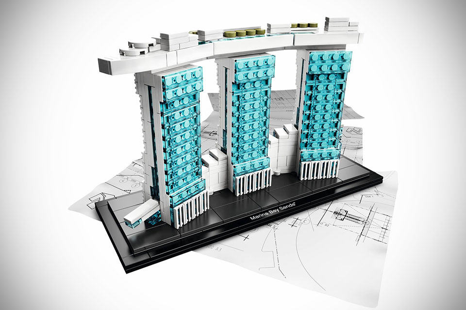 Lego Architecture Marina Bay Sands Shouts