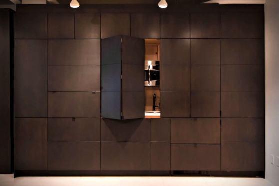 Stealth Kitchen by Resource Furniture