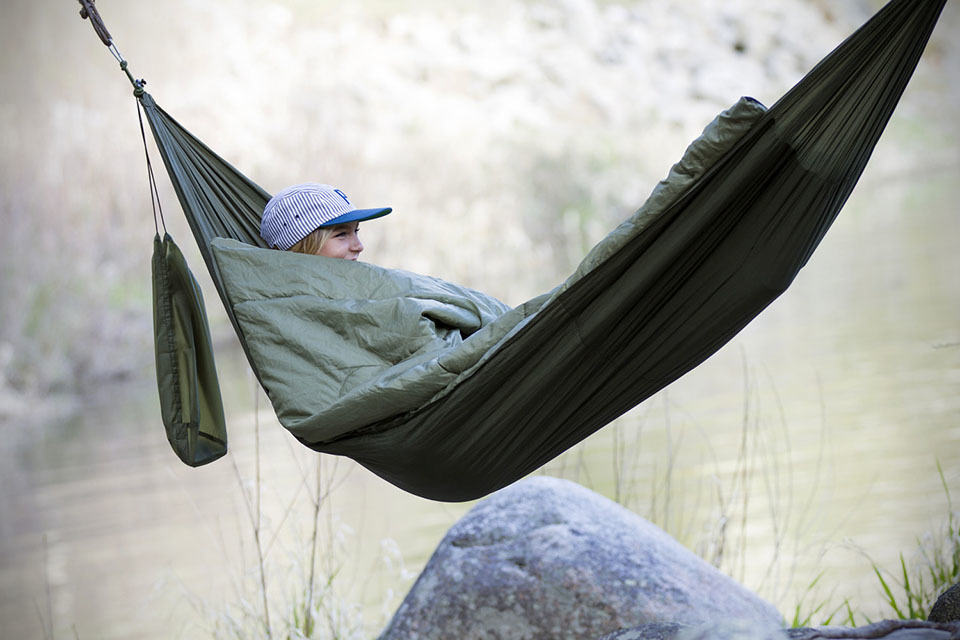 Bison Bag Is A Hammock And Sleeping Bag Roll Into One  SHOUTS