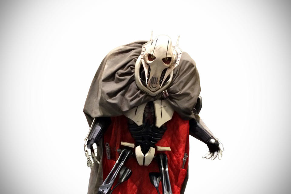 This Is Probably The Best General Grievous Cosplay Like