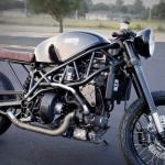 This Cafe Racer Is Powered By A Turbo Diesel Engine And Fueled By Bacon