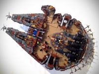 This Stunning Steampunk Millennium Falcon Is The Worthy ...