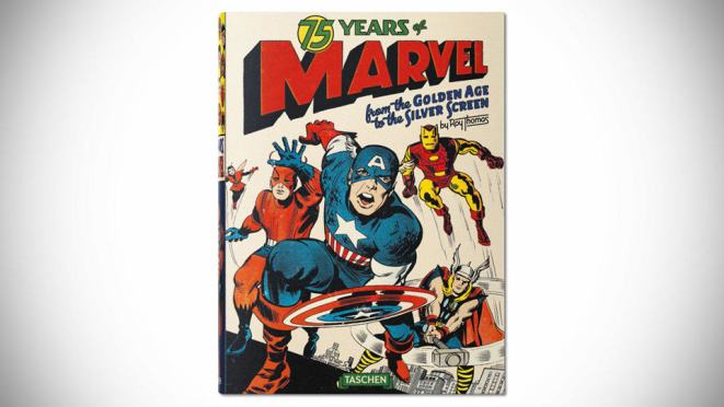 75 Years of Marvel Comics: From the Golden Age to the Silver Screen [Hardcover]