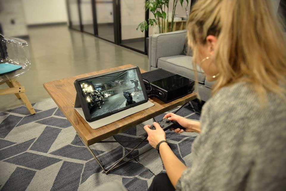 GAEMS 155inch LED Monitor Lets You Game Away From Your Living  SHOUTS