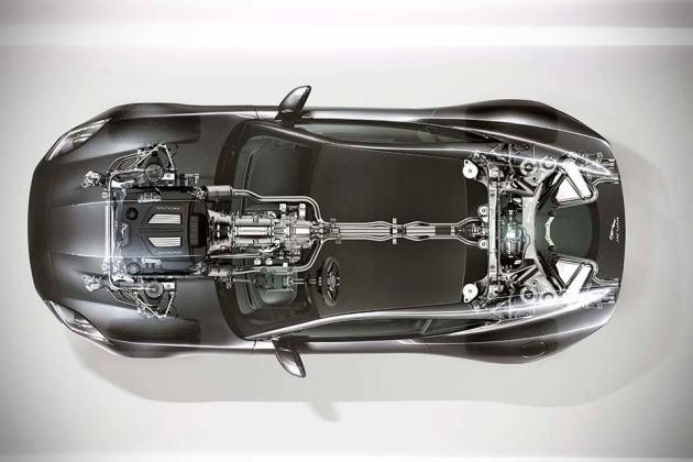 Jaguar F-TYPE AWD - See-through
