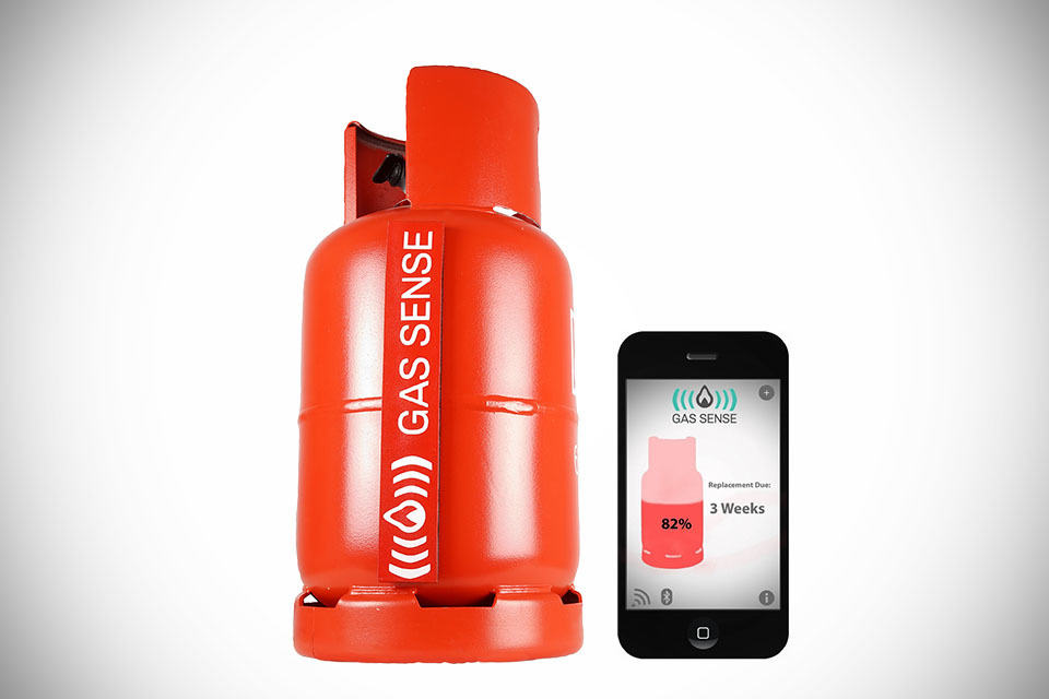 GasSense Lets You Check Your LPG Tank Level in RealTime