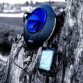 Blue freedom portable hydropower plant harnesses the power of flowing
