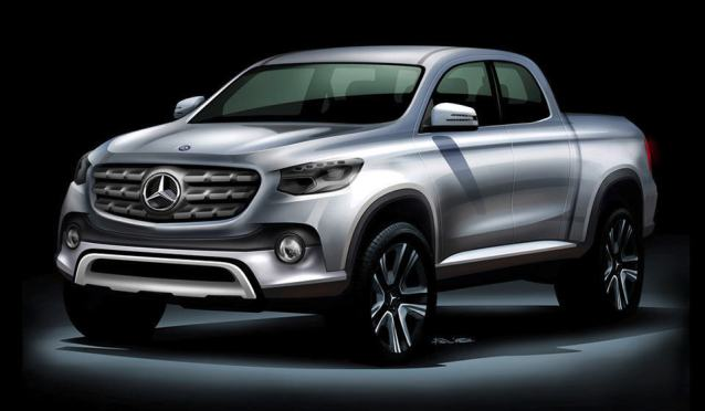 Mercedes-Benz Midsize Pickup Truck
