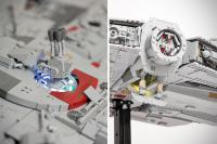 Custom LEGO Millennium Falcon Made LEGO UCS Set Looks Puny ...