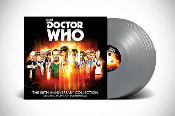 Doctor Who: 50 Years in the TARDIS Vinyl Box Set - Cyberman Edition