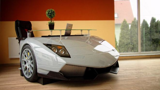 Luxury Car Desks and Sofas by Design Epicentrum