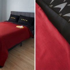 Kitchen Set For Girl Black Subway Tile Cosy Up With Star Trek: The Next Generation Uniform ...
