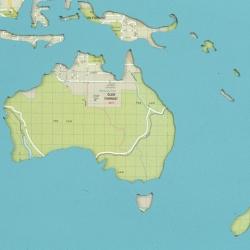 world map detail