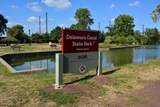 New Terminus of the Delaware Canal