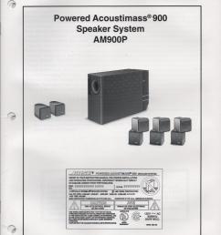 bose 901 series v manual tandinas co uk [ 832 x 1088 Pixel ]