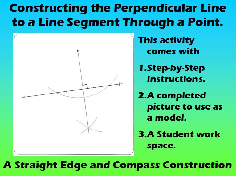 MR Geometric Constructions Mikes Math Market