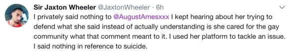 Jaxton Wheeler tweet