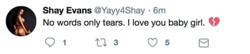 Shay Evans on Yurizan Beltran's passing